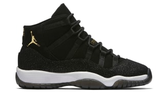 Air Jordan 11 Retro GG Heiress Black/Metallic Gold-White