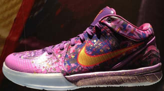 Nike Zoom Kobe IV Prelude Court Purple/Metallic Gold-Purple Venom