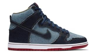 "Nike SB Dunk High ""Reese Forbes Denim"""
