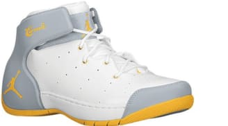 Jordan Melo 1.5 White/Atomic Mango-Wolf Grey