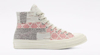 Converse Chuck 70 Patchwork Twill/Light Gray/Egret