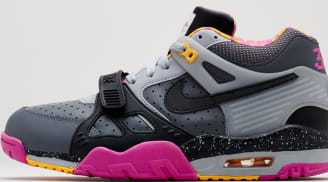 Nike Air Trainer III Premium QS Dark Grey/Black-Wolf Grey-Club Pink