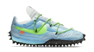 Off-White x Nike Waffle Racer Women's Vivid Sky/Black/Electric Green