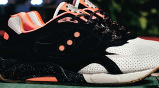 Saucony G9 Shadow 6 Black/Pink