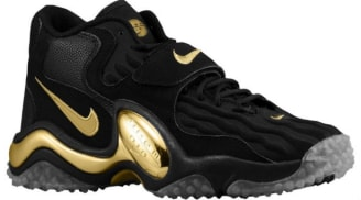 Nike Air Zoom Turf Jet 97 Black/Metallic Gold-Pure Platinum