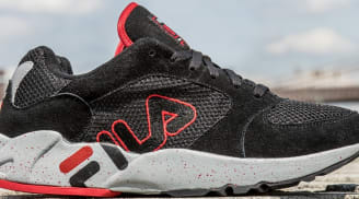 Fila Mindbender Black/Fila Red-Hi Rise Grey