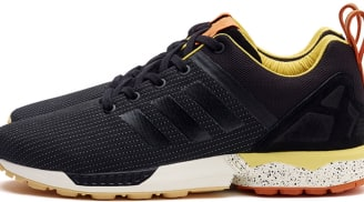 adidas Consortium ZX Flux Black/Yellow-Orange