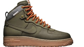 Nike Air Force 1 Duckboot Dark Loden/Dark Loden