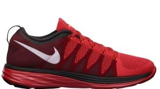 Nike Flyknit Lunar2 Light Crimson/White-Gym Red-Midnight Fog