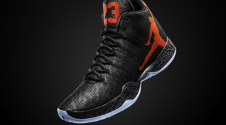 Air Jordan XX9 Black/Team Orange-Dark Grey