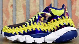 Nike Air Footscape Woven Chukka YOTH QS Light Midnight/Bright Citron