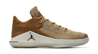Air Jordan 32 Low Golden Harvest/Metallic Gold-Sail