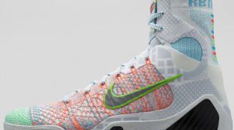 Nike Kobe 9 Elite Premium QS Multi-Color/Reflect Silver-Chlorine Blue