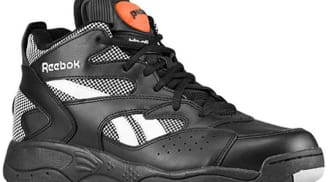 Reebok Pump D-Time Black/Steel-White-Varsity Orange
