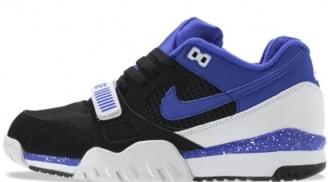 8fe9d6e17fd Nike Air Trainer 2 Premium QS Black Persian Violet-White