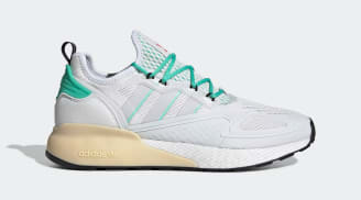 Adidas ZX 2K Boost Crystal White/Grey One/Hi-Res Green