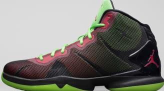 Jordan Super.Fly 4 Black/Gym Red-Green Pulse-Infrared 23