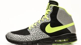 Nike Paul Rodriguez 7 Hyperfuse Max Premium SB Black/Volt-Metallic Silver