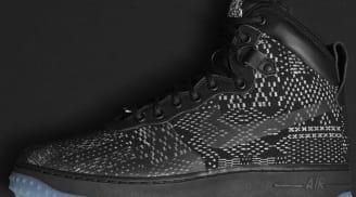 Nike Air Force 1 Duckboot BHM Black/Metallic Gold-White