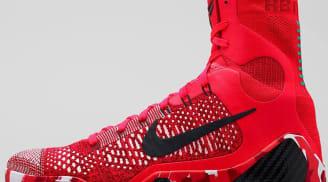Nike Kobe 9 Elite Bright Crimson/Black-White