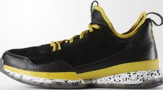 adidas D Lillard 1 Black/Yellow-White
