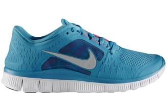 Nike Free Run+3 Women's N7 Dark Turquoise/Reflective Silver-White-Pink Flash