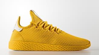 "Pharrell Williams x adidas Tennis Hu ""Collegiate Gold"""