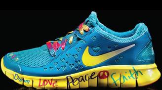 Shelby's Nike Free Run 2 Women's DB Doernbecher