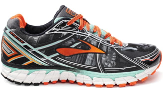 Brooks Adrenaline GTS 15 Black/Orange-Mint Green
