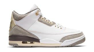 A Ma Maniere x Air Jordan 3 White/Medium Grey-Violet Ore-White