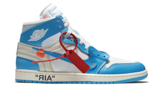 Air Jordan 1 Retro High x Off-White White/Cone-Dark Powder Blue