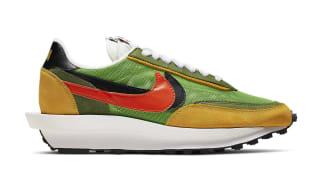 Sacai x Nike LDWaffle Green Gusto/Black-Varsity Maize-Safety Orange