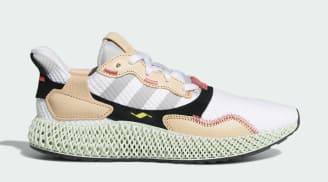 Hender Scheme x Adidas ZX 4000 4D White