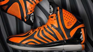 adidas Rose 4.5 Carbon/Solar Zest-Grey