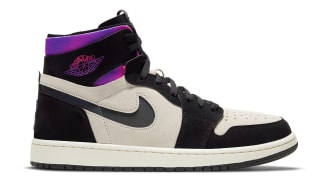 Paris Saint-Germain x Air Jordan 1 High Zoom CMFT White/Black/Psychic Purple/Hyper Pink