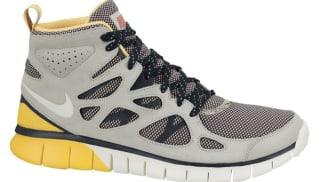 Nike Free Run 2 Sneakerboot Pale Grey/Sail-Maderia-Laser Orange