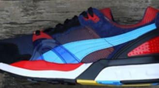 Puma Trinomic XT2 Black/Red-Sax-Blue-White