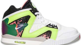 Nike Air Tech Challenge Hybrid White/White-Volt-Hot Lava