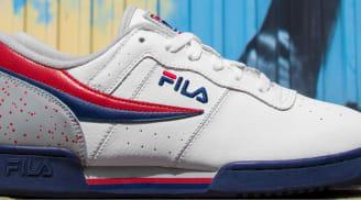 Fila Original Fitness White/Fila Navy-Fila Red