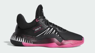 Adidas D.O.N. Issue #1 Core Black/Shock Pink/Cloud White