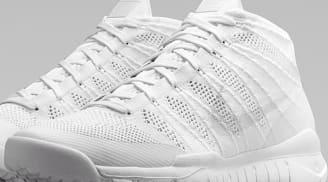 Nike Flyknit Trainer Chukka SFB White/White