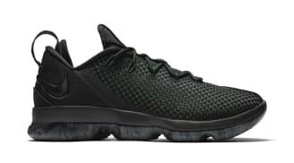 Nike LeBron 14 Low Black/Black-Dark Grey