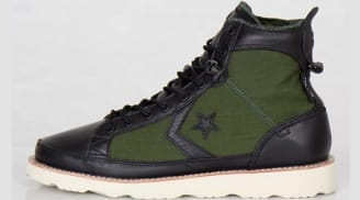 Converse Pro Field Hi Black/Rifle Green-Orange