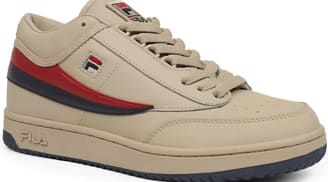 Fila T-1 Mid Cream/Fila Navy-Fila Red