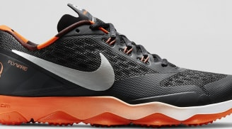 Nike Zoom Hypercross TR Black/Brilliant Orange-White-Metallic Silver
