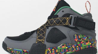 Nike Air Raid Black/Dark Grey-Pine Green