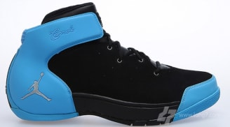 super popular 04336 234c0 Jordan Melo 1.5 Black Metallic Silver-University Blue