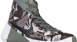 Nike Hyperdunk 2015 Premium Tumbled Grey/Black-Night Silver-Wolf Grey