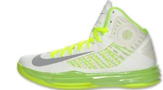 on sale 5a3d2 3ba4a Nike Lunar Hyperdunk 2012+ Summit White Wolf Grey-Electric Green-Liquid Lime