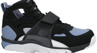d04e7b3a9b30 Nike Air Trainer Huarache Black Cool Blue-White